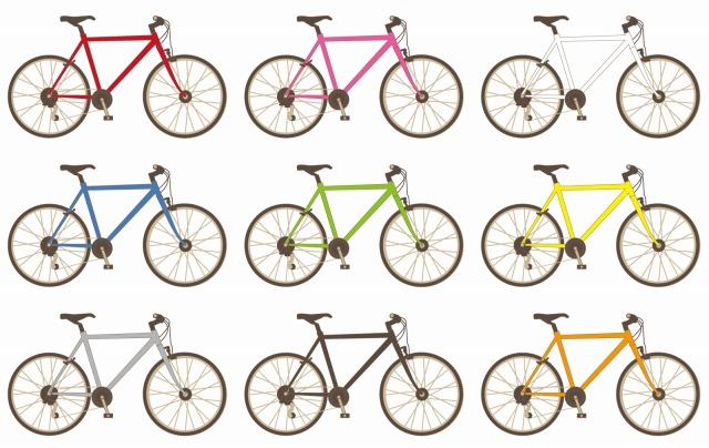 クロスバイクのイラスト