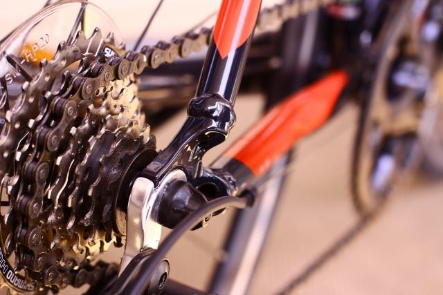 ロードバイク(クロスバイク)のチェーン回り