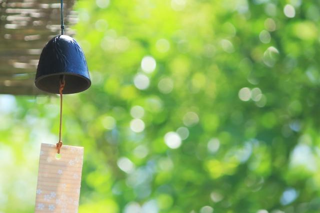 ある夏の日と風鈴